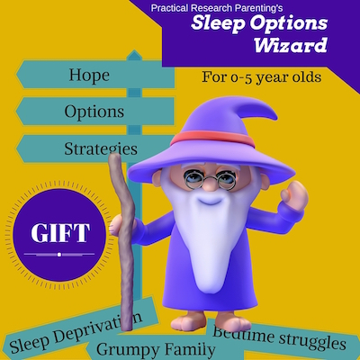 sleep options wizard gift image