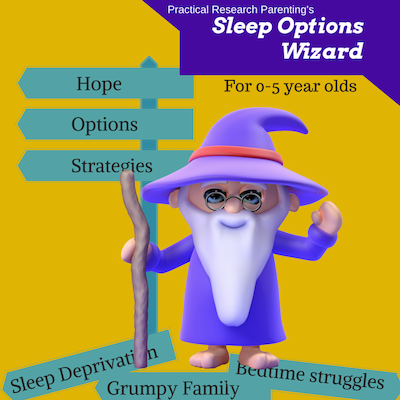 sleep options wizard image