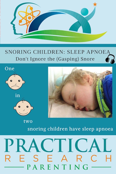 Snoring Children, Sleep Apnoea image